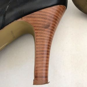 Nine West Shoes - Nine West O-Kaiser3y Leather Platform Boots